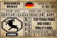 Prediksi Germany Hari Ini 01 Mei 2021