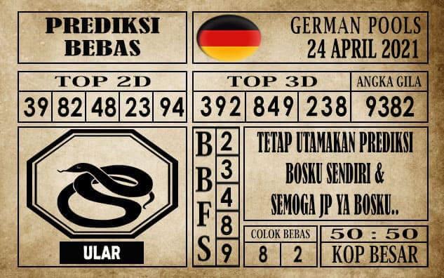 Prediksi Germany Hari Ini 25 April 2021