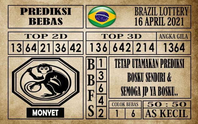 Prediksi Brazil Lottery Hari Ini 16 April 2021