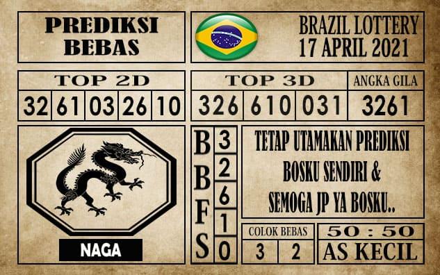 Prediksi Brazil Lottery Hari Ini 17 April 2021