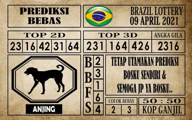 Prediksi Brazil Lottery Hari Ini 09 April 2021