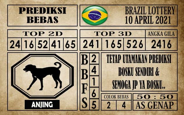 Prediksi Brazil Lottery Hari Ini 10 April 2021