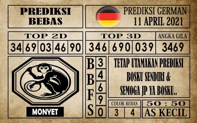Prediksi Germany Hari Ini 11 April 2021