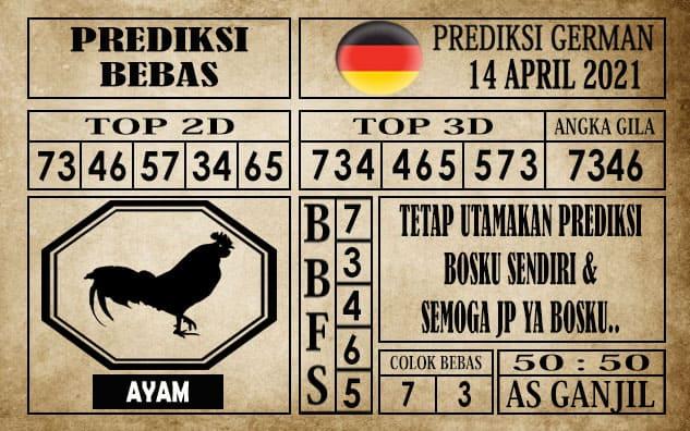 Prediksi Germany Hari Ini 14 April 2021