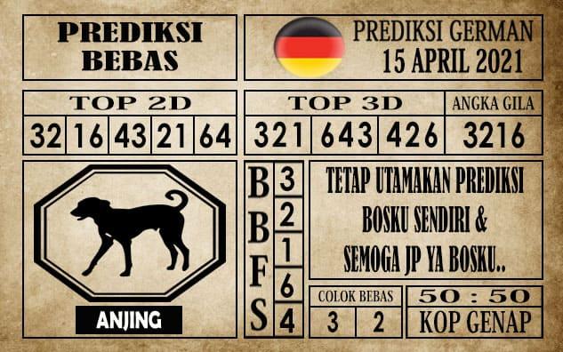 Prediksi Germany Hari Ini 15 April 2021