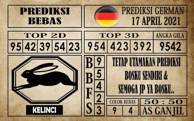 Prediksi Germany Hari Ini 17 April 2021