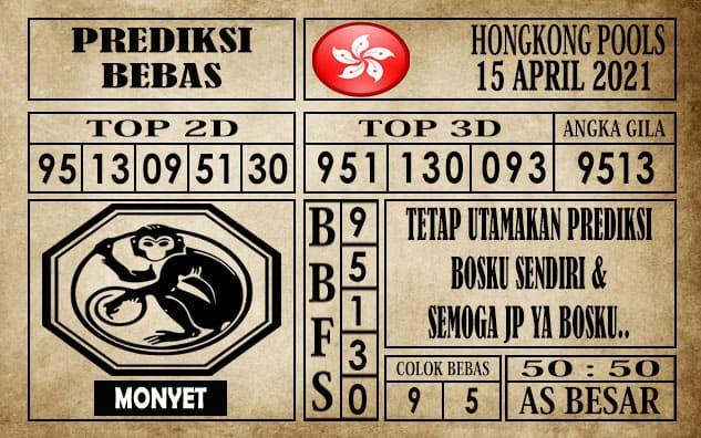 Prediksi Hongkong Pools Hari Ini 15 April 2021