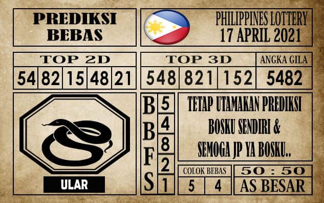 Prediksi Filipina PCSO Hari Ini 17 April 2021