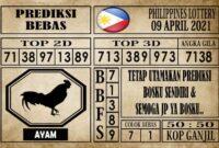 Prediksi Filipina PCSO Hari Ini 09 April 2021