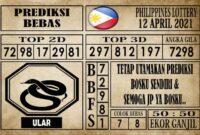 Prediksi Filipina PCSO Hari Ini 12 April 2021
