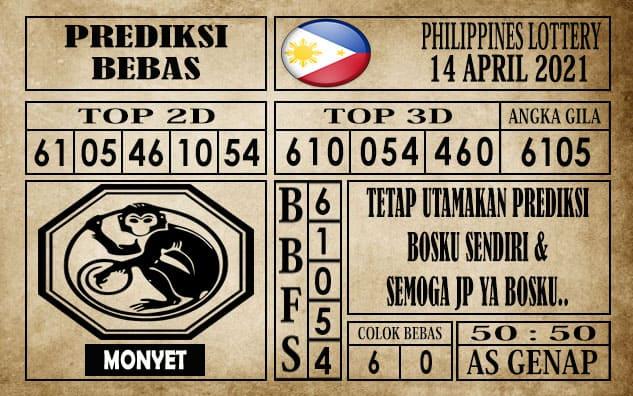 Prediksi Filipina PCSO Hari Ini 14 April 2021