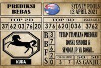 Prediksi Sydney Pools Hari Ini 12 April 2021