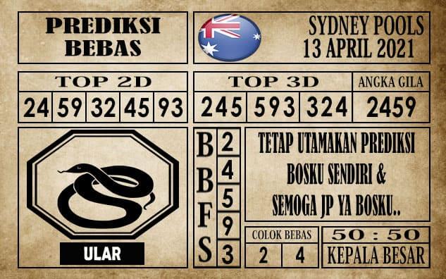 Prediksi Sydney Pools Hari Ini 13 April 2021