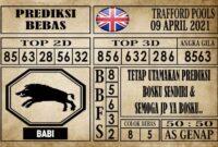 Prediksi Trafford Pools Hari Ini 09 April 2021