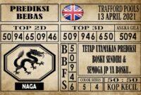 Prediksi Trafford Pools Hari Ini 13 April 2021