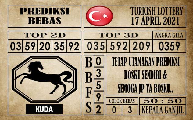 Prediksi Turkish Lottery Hari Ini 17 April 2021