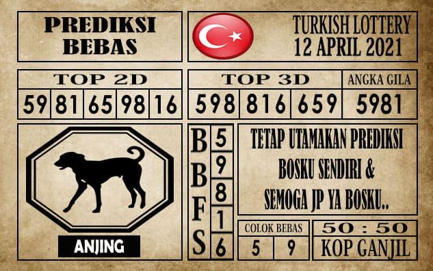 Prediksi Turkish Lottery Hari Ini 12 April 2021