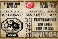 Prediksi Turkish Lottery Hari Ini 13 April 2021
