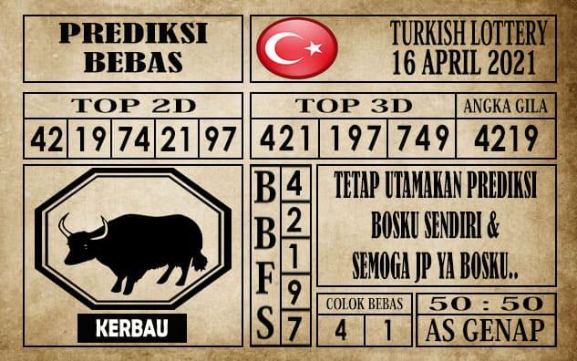 Prediksi Turkish Lottery Hari Ini 16 April 2021