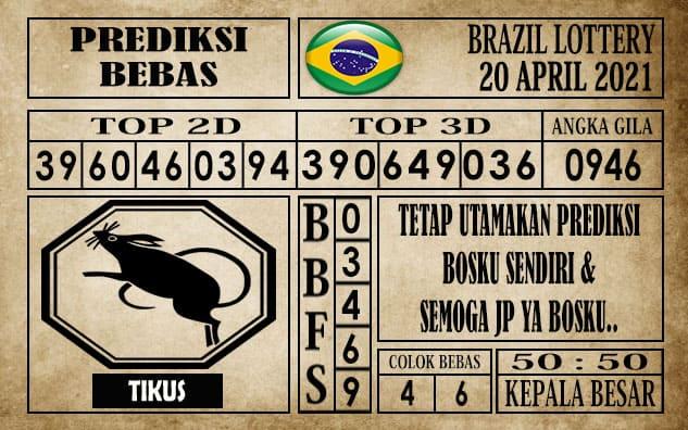 Prediksi Brazil Lottery Hari Ini 20 April 2021