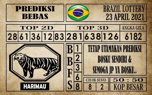 Prediksi Brazil Lottery Hari Ini 23 April 2021