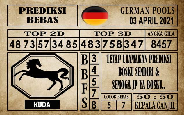 Prediksi Germany Hari Ini 03 April 2021