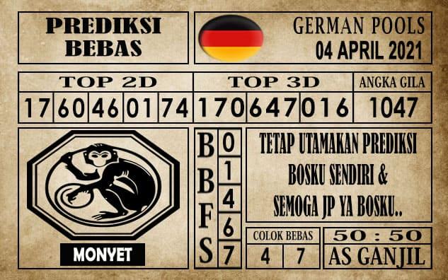 Prediksi Germany Hari Ini 04 April 2021