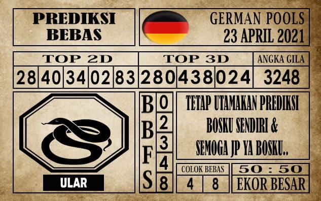 Prediksi Germany Hari Ini 23 April 2021