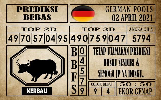 Prediksi Germany Hari Ini 02 April 2021