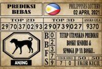 Prediksi Filipina PCSO Hari Ini 02 April 2021