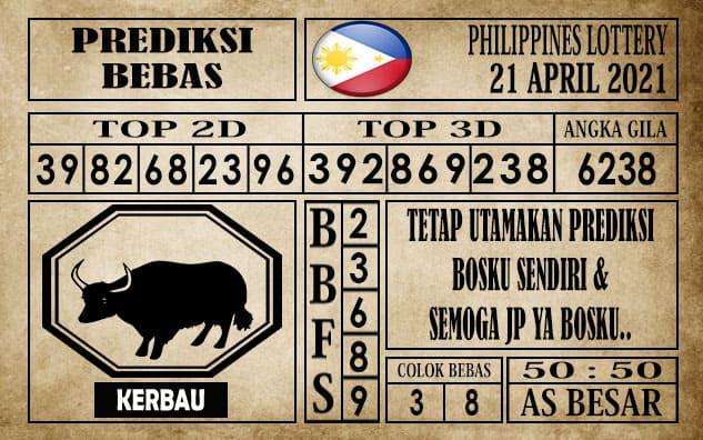 Prediksi Filipina PCSO Hari Ini 21 April 2021