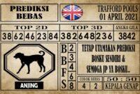 Prediksi Trafford Pools Hari Ini 01 April 2021