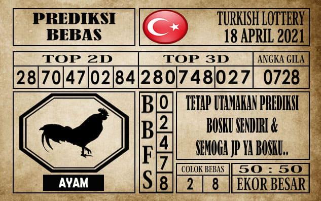 Prediksi Turkish Lottery Hari ini 18 April 2021