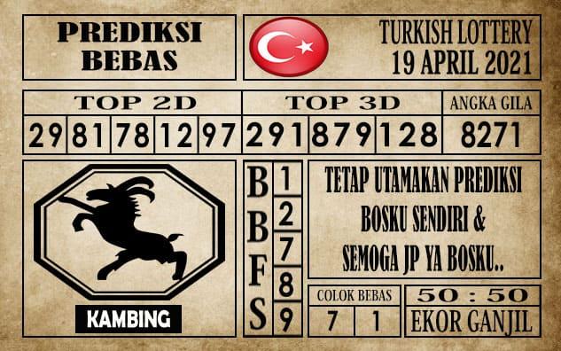 Prediksi Turkish Lottery Hari ini 19 April 2021