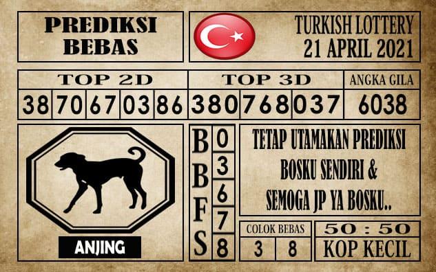 Prediksi Turkish Lottery Hari ini 21 April 2021