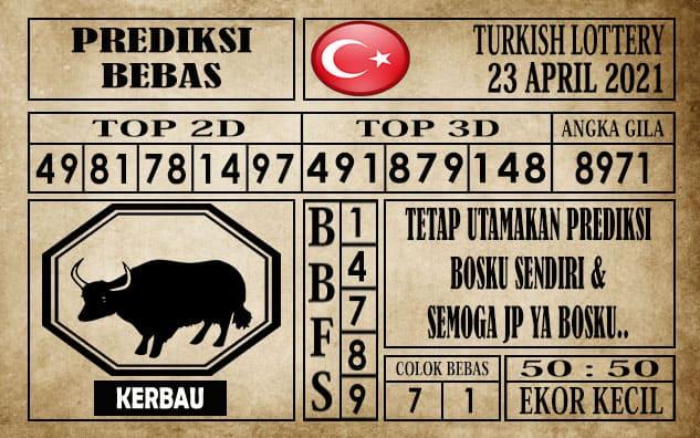 Prediksi Turkish Lottery Hari ini 23 April 2021
