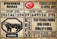 Prediksi Turkish Lottery Hari ini 03 April 2021
