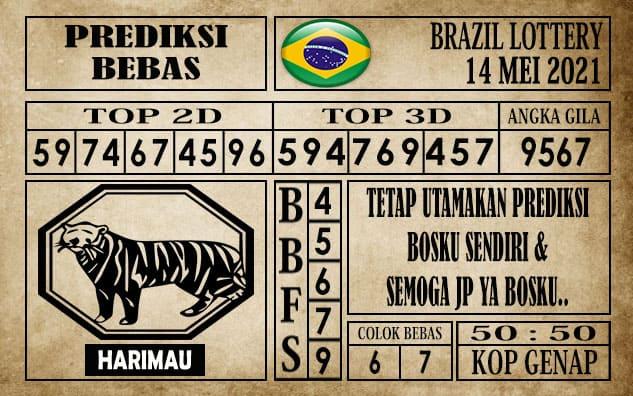 Prediksi Brazil Lottery Hari Ini 14 Mei 2021