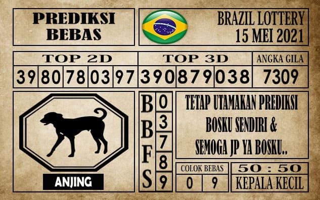 Prediksi Brazil Lottery Hari Ini 15 Mei 2021
