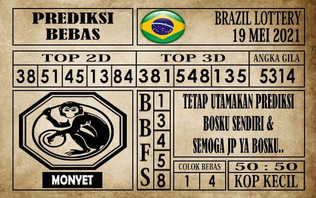 Prediksi Brazil Lottery Hari Ini 19 Mei 2021