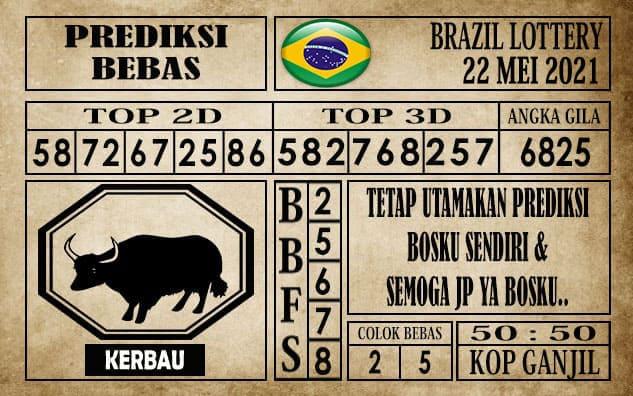 Prediksi Brazil Lottery Hari Ini 22 Mei 2021
