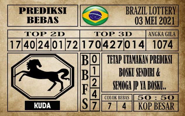 Prediksi Brazil Lottery Hari Ini 03 Mei 2021