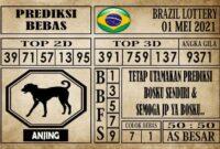 Prediksi Brazil Lottery Hari Ini 01 Mei 2021