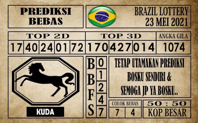 Prediksi Brazil Lottery Hari Ini 23 Mei 2021