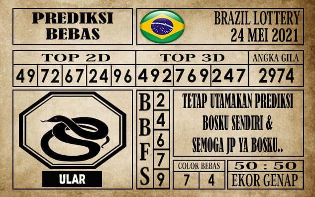 Prediksi Brazil Lottery Hari Ini 24 Mei 2021