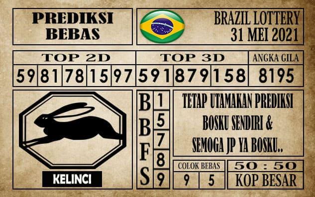 Prediksi Brazil Lottery Hari Ini 31 Mei 2021