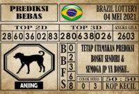Prediksi Brazil Lottery Hari Ini 04 Mei 2021