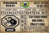 Prediksi Brazil Lottery Hari Ini 09 Mei 2021