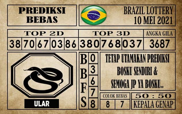 Prediksi Brazil Lottery Hari Ini 10 Mei 2021
