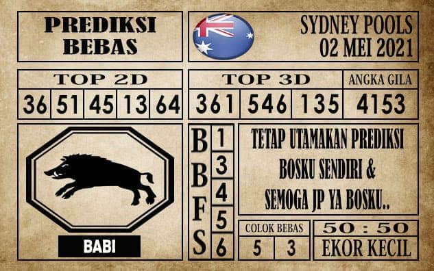 Prediksi Sydney Pools Hari ini 02 Mei 2021